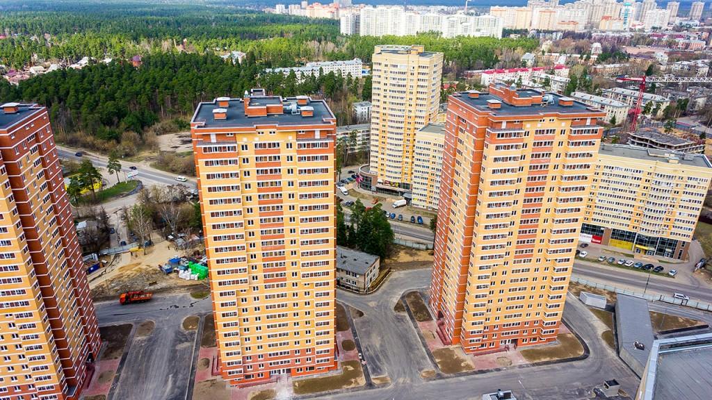 """Раменское, жилой комплекс """"Солнечный"""""""